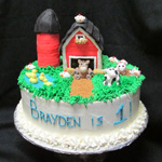 braydens-farm-animal-cake