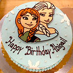 frozen-theme-cake